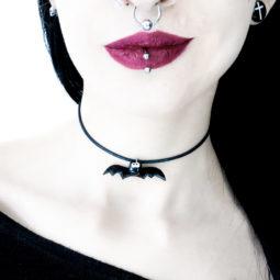 Fledermaus Kette Fledi - Gothic Girl