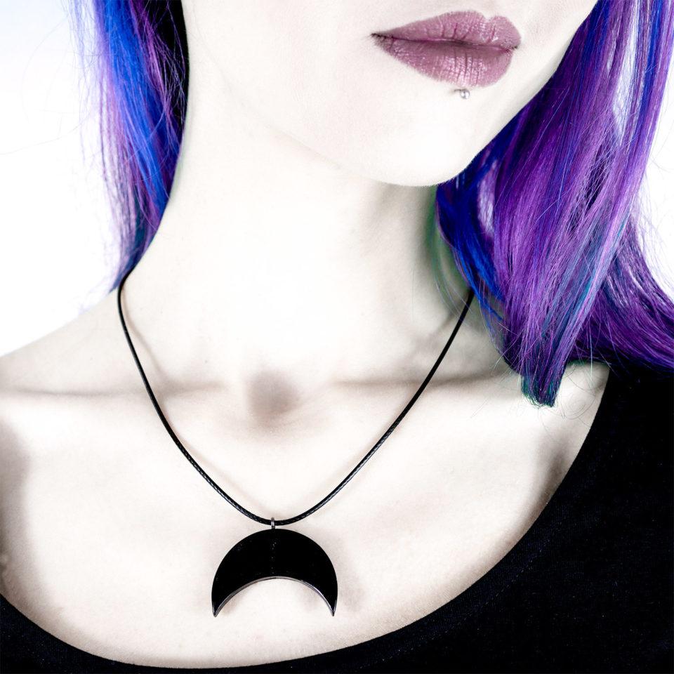 Gothic Halskette Mond - Gothic Girl