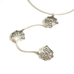 Gothic Halskette Spinne - Produktbild