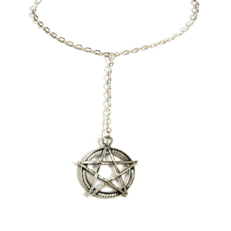 Pentagramm Kette Pentakel - Zoom