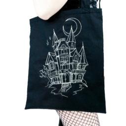Gothic Bag Haunted House - Large