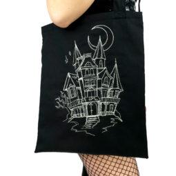 Gothic Tasche Spukhaus - Groß