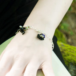 Gothic Spinnen Armband Spooky Pets - Gothgirl