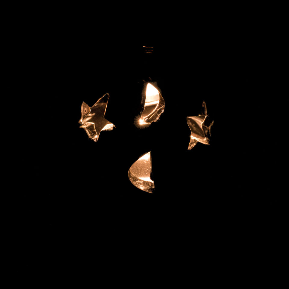 Gothic Duftlampe Sterne & Mond