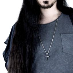 Gothic Cross Necklace Fearless - Gothguy