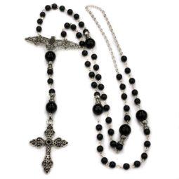 Gothic Rosenkranz Bat Rosary - Zoom