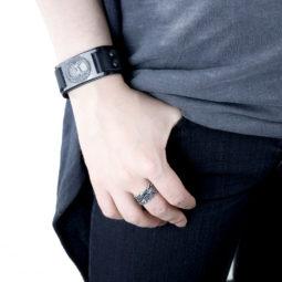 Wikinger Armband Yggdrasil - Wikinger Mann