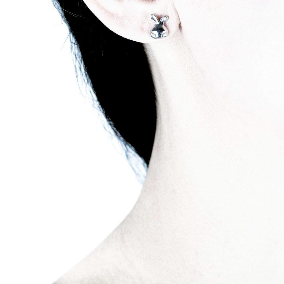 Gothic Hasen- Ohrringe - Mein Name ist Hase - Gothgirl