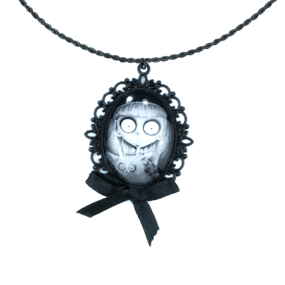 Gothic Kette Weird Girl- Zoom