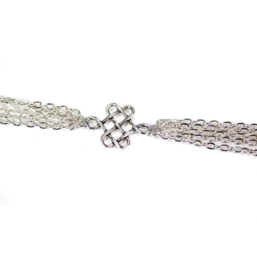 Halskette Keltischer Knoten - Zoom