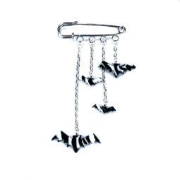 Fledermaus Anhänger Zebra Gefleder - Produktbild