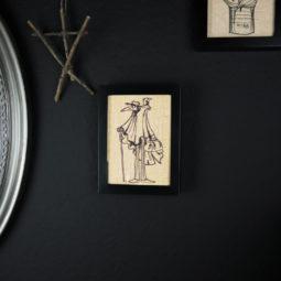 Gothic Deko Bild Leinen - Dr. Pest