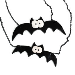Fledermaus Halskette Spooky Bat - Zoom