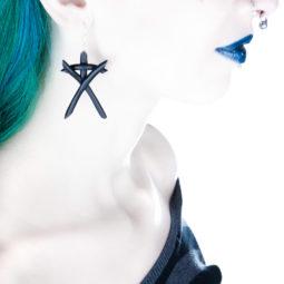 Hexen Ohrringe Spooky Ohrgebaumsel - Gothic-Girl
