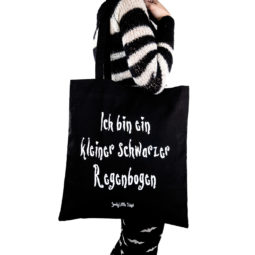Gothic Tasche Schwarzer Regenbogen - Gothgirl