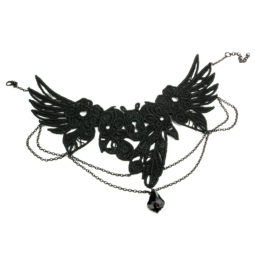 Gothic Collier Nevermore - Zoom