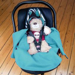 Baby Goth Blanket: Baby Bat Wrap - Baby Bowl 3