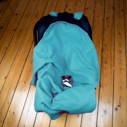 Baby Goth Blanket: Baby Bat Wrap - Baby Bowl 2