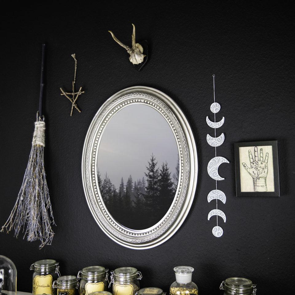 Gothic Wanddeko Mondgephasel