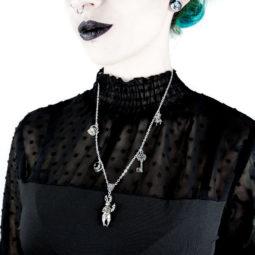 Alice im Wunderland Kette: Ich habe doch keine Zeit - Gothic Girl