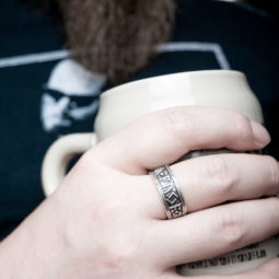 Wikinger Ring Gibu Auja - bearded guy