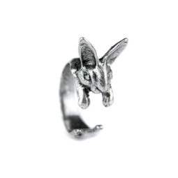 Gothic Hase Ring