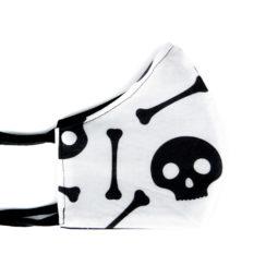 Maske Spooky Gesichtsbekleidung Totenköpfchen