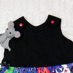 Gothic Kinder Kleid - Summerween