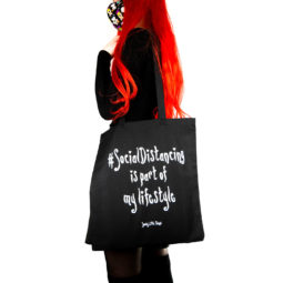 Gothic Bag Social Distancing - Gothgirl