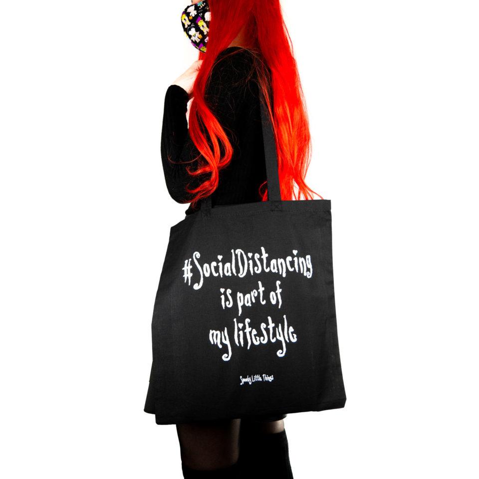 Gothic Tasche Social Distancing - Gothgirl