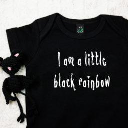 Gothic Baby Body - Black rainbow