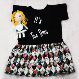 Gothic Kids Dress - It's Tea Time