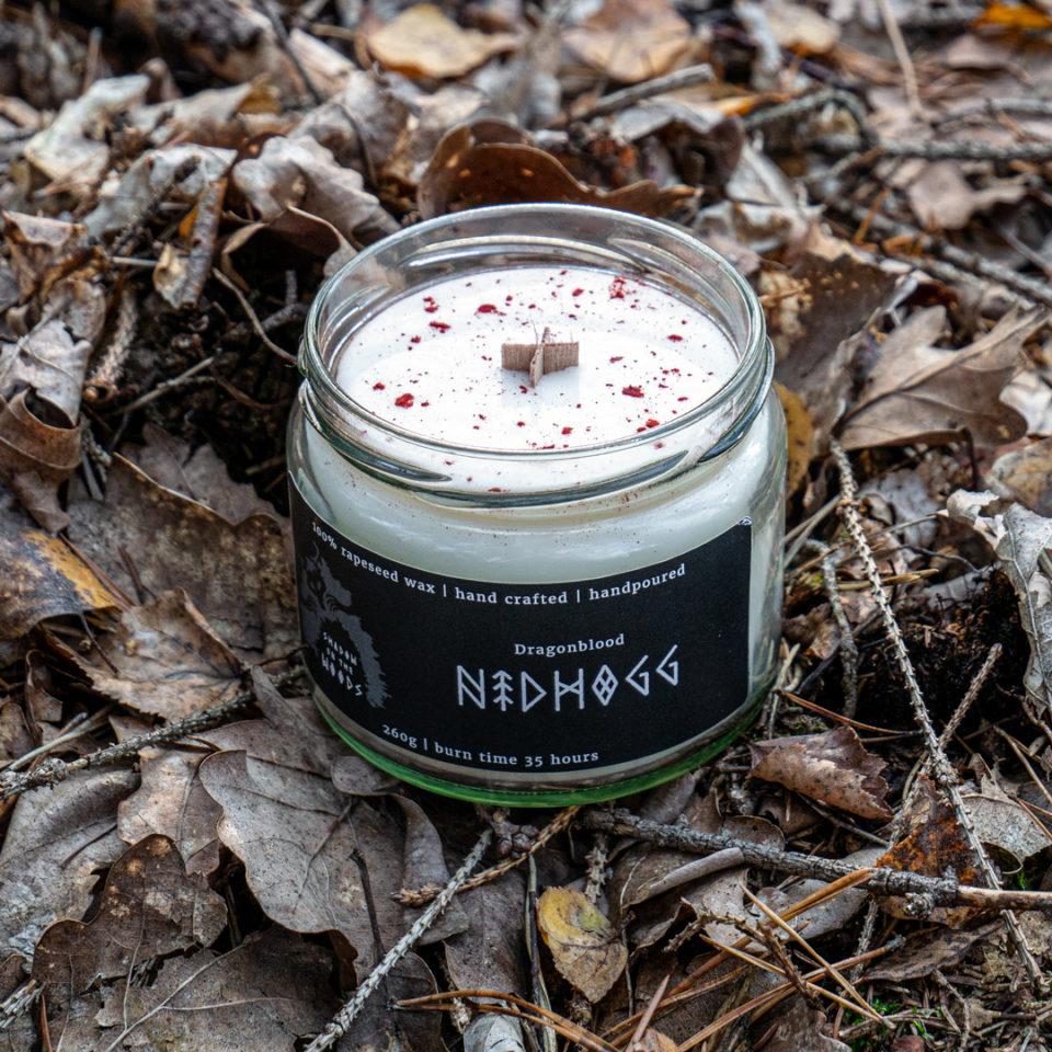 Pagan Aromatic Candle Nidhogg