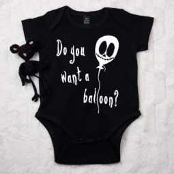 Gothic Baby Body - Do you want a Balloon?