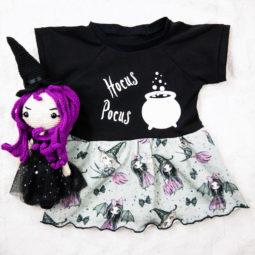 Gothic Kinder Kleid - Hocus Pocus