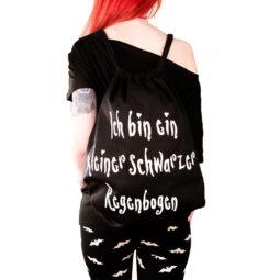 Gothic Beutel Regenbogenbeutel - Gothgirl