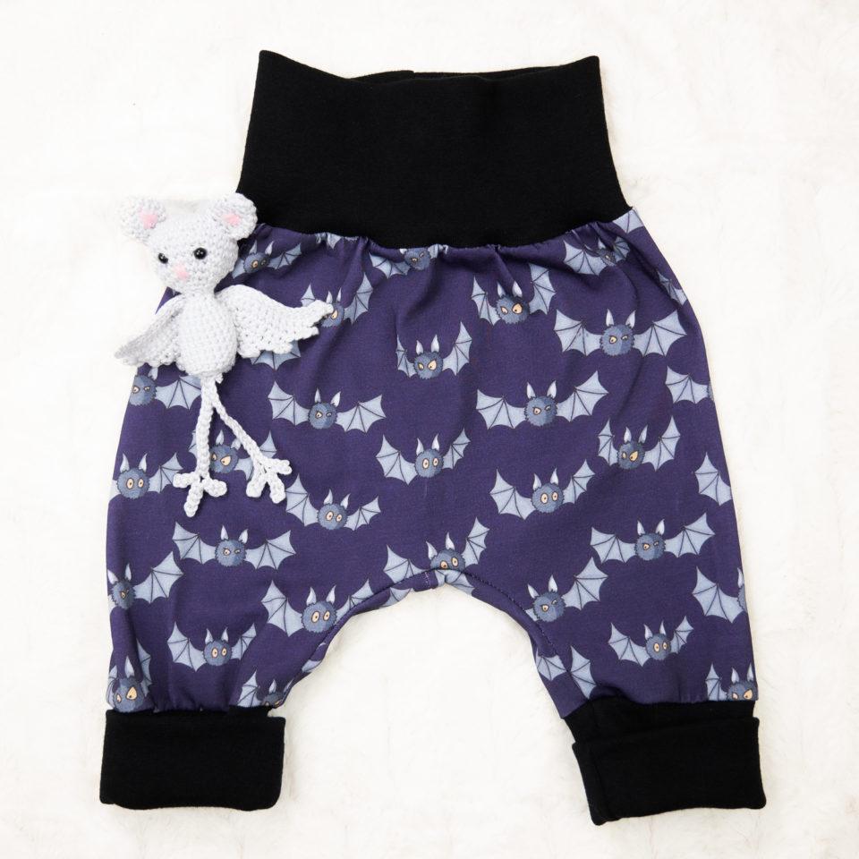 Gothic Baby Pumphose - Fledermaus