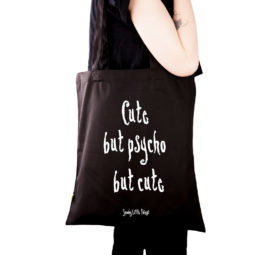 Gothic Tasche Cute but psycho - Gothgirl
