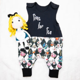 Gothic Wonderland Romper suit Teaparty