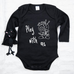 Gothic Baby Body langarm - Play with me