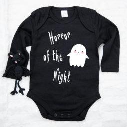 Gothic Baby Body langarm - Spenst