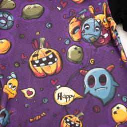 Gothic Kinder Kleid Happy Pumpkin - Kinder-Kleid für kleine Kürbiss-Fans