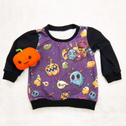 Gothic children's sweater Happy Pumpkin - children's sweater for little pumpkin fans