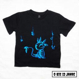 Gothic Kinder & Baby T-Shirt - Giftdrache Saphir